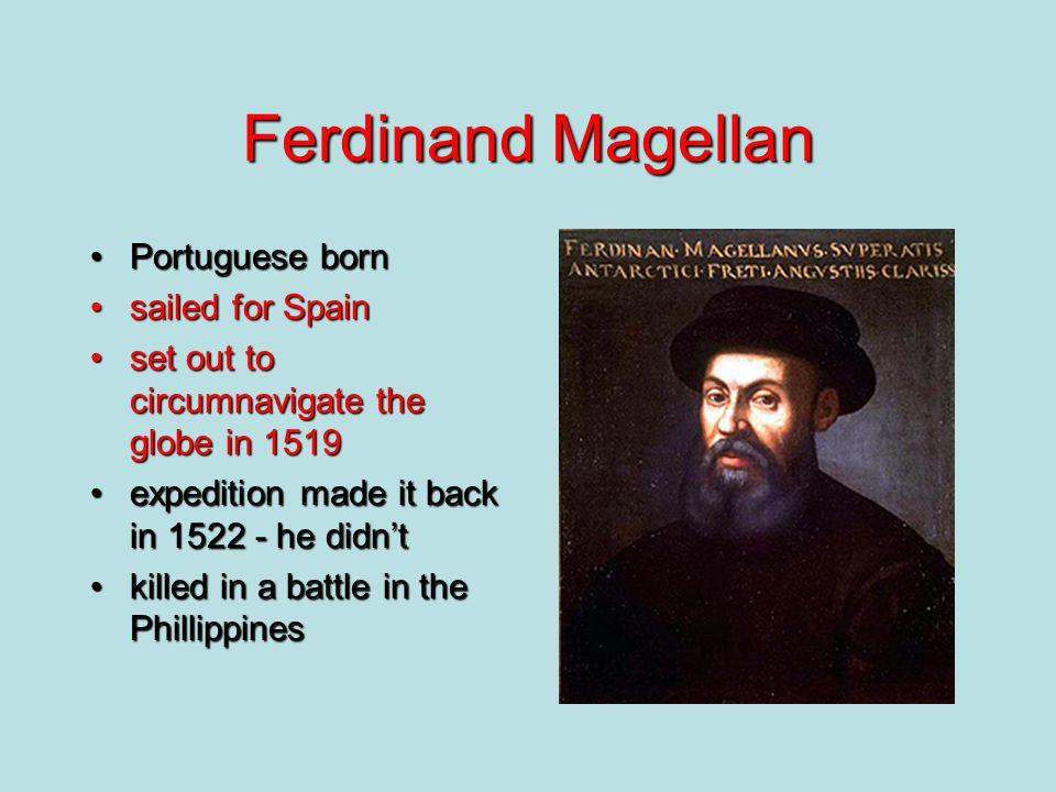 The voyages of Amerigo Vespucci.