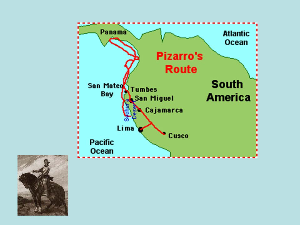 Francisco Pizarro Spanish conquistadorSpanish conquistador captured and killed Incan emperorcaptured and killed Incan emperor looted and destroyed Incan capitallooted and destroyed Incan capital founded Lima, Peru where he was assassinatedfounded Lima, Peru where he was assassinated
