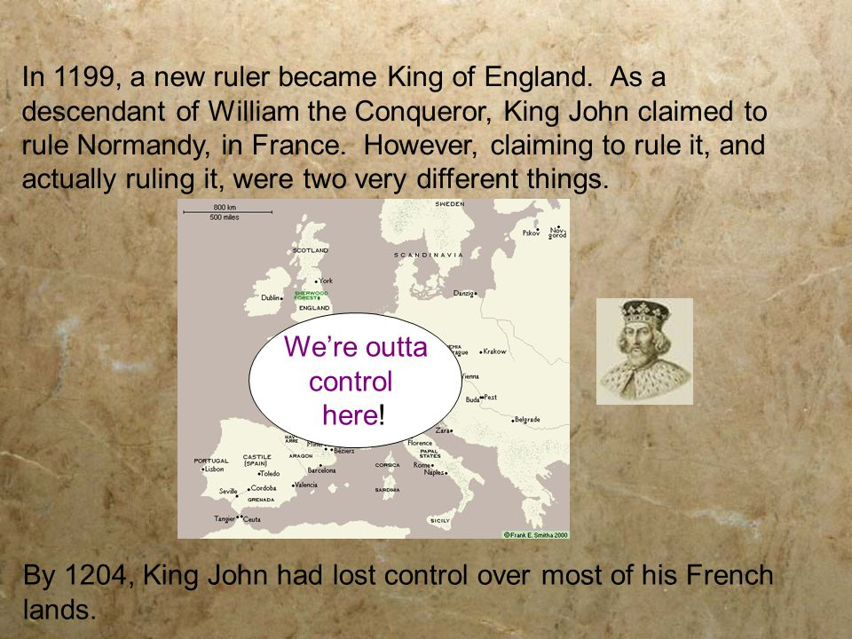 William the Conqueror - Duke of Normandy and the first Norman king of England.