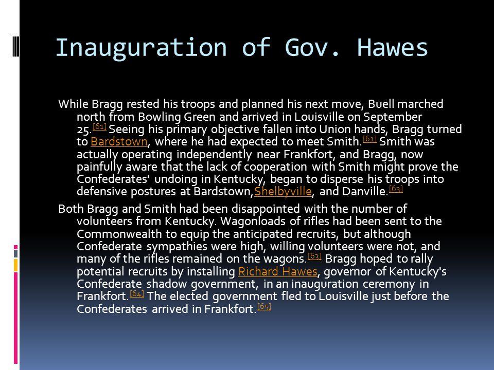 Inauguration of Gov.