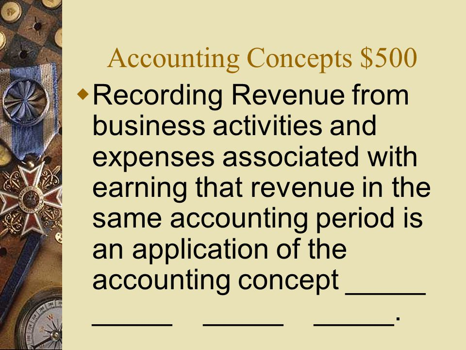 Accounting Concepts $400  What is Accounting Period Cycle ?
