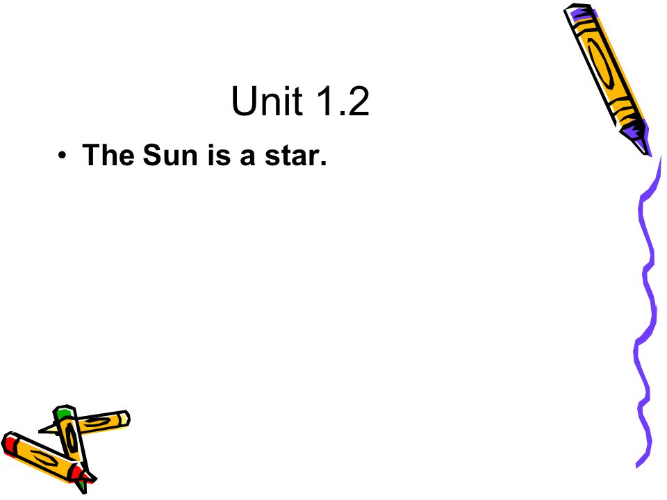 Unit 1.4 The amount of particles and energy put out by the Sun is not constant.