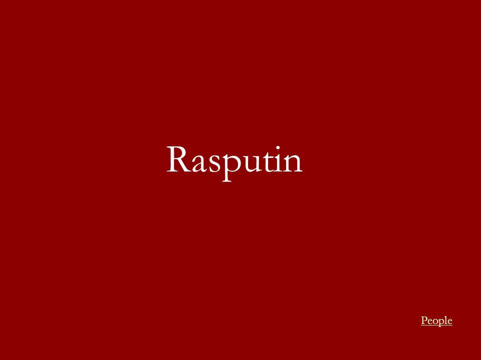 Rasputin People