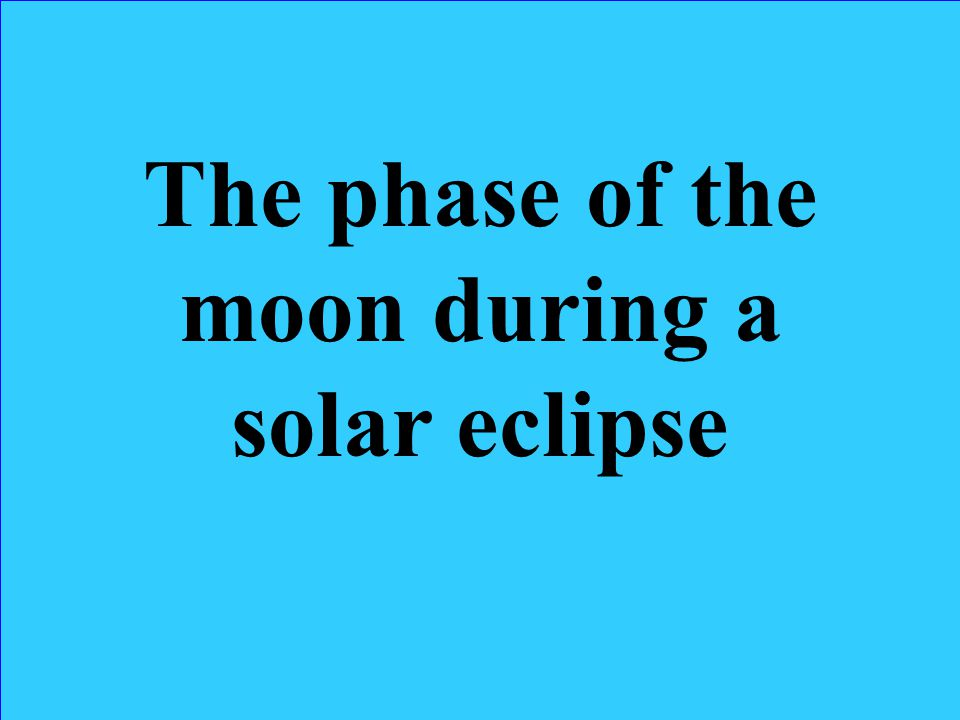 What is… Solar Eclipse