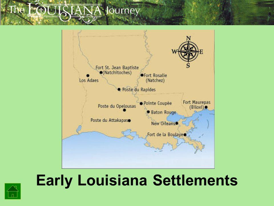 Early Louisiana Settlements