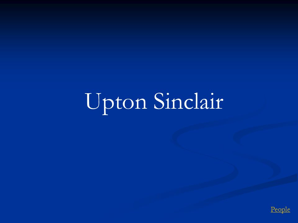 Upton Sinclair People