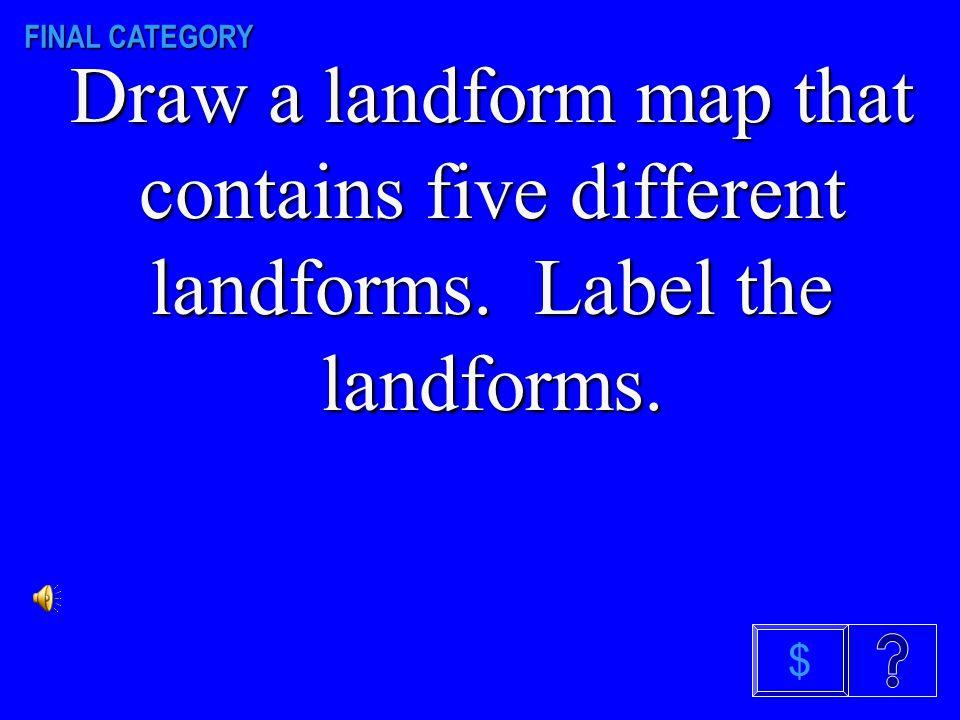 Landforms $