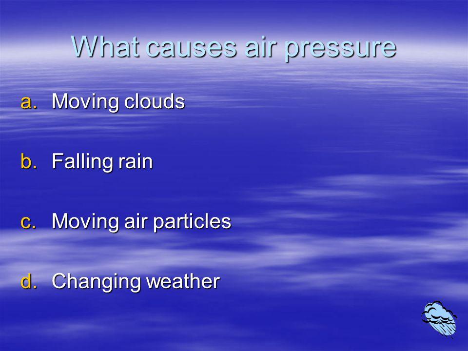 What happens to air as you climb a high mountain.