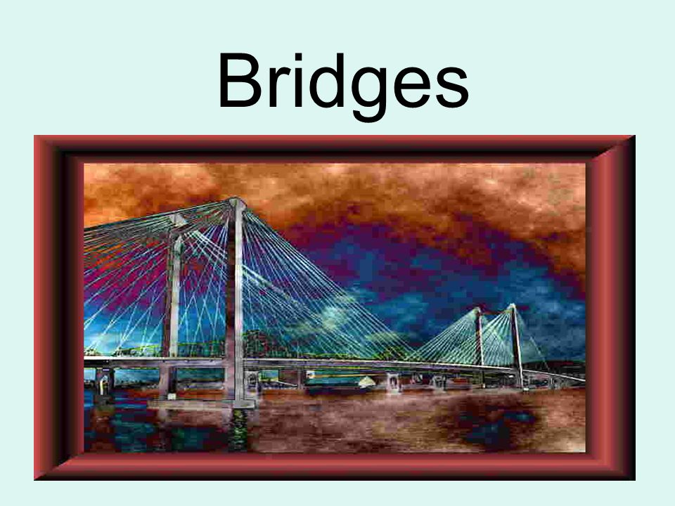 Important Words Span: the distance between two bridge supports (column, tower, canyon walls…) Abutment: a.