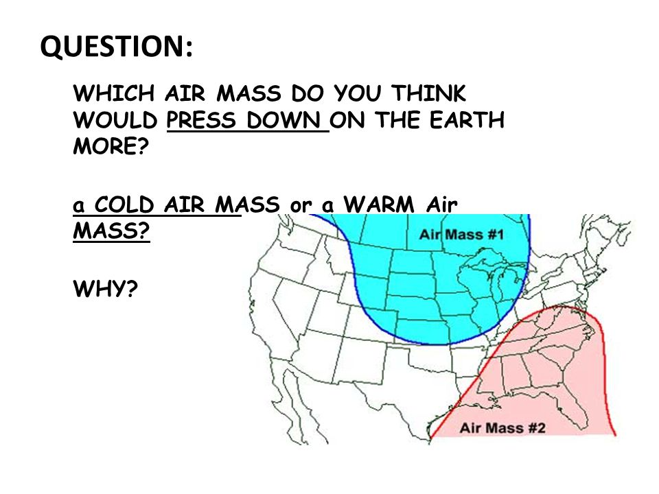 How do the air masses move.WINDS .