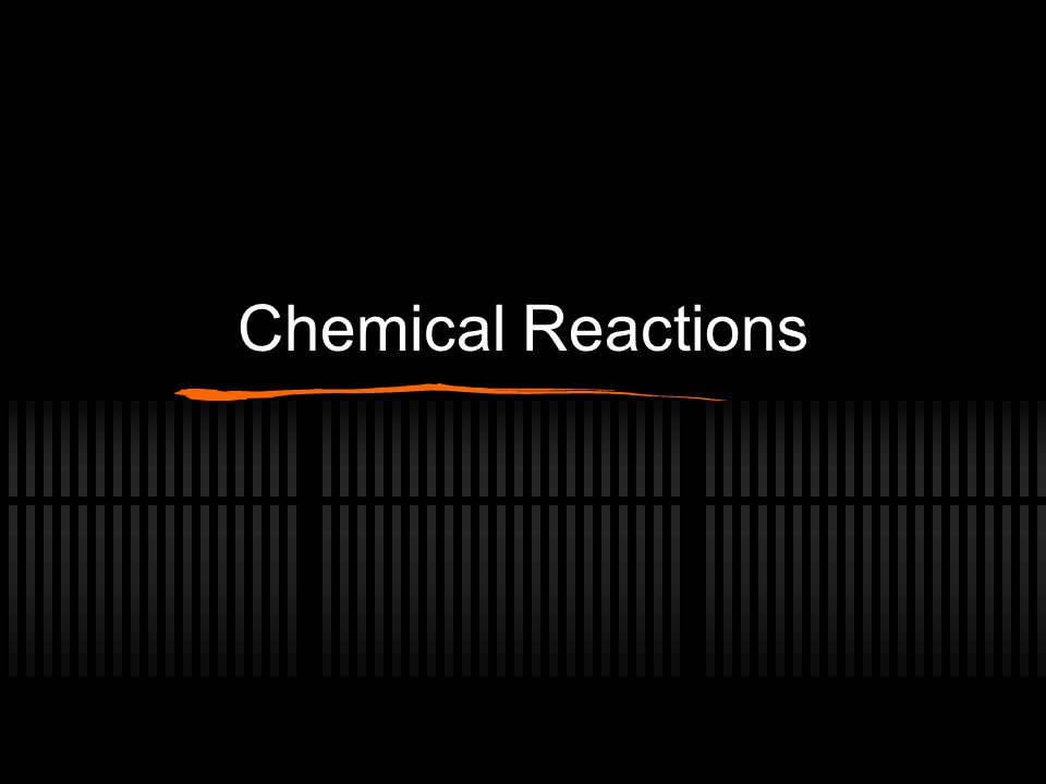 4 Basic Types of Chemical Rxns Synthesis Decomposition Single Replacement Double Replacement