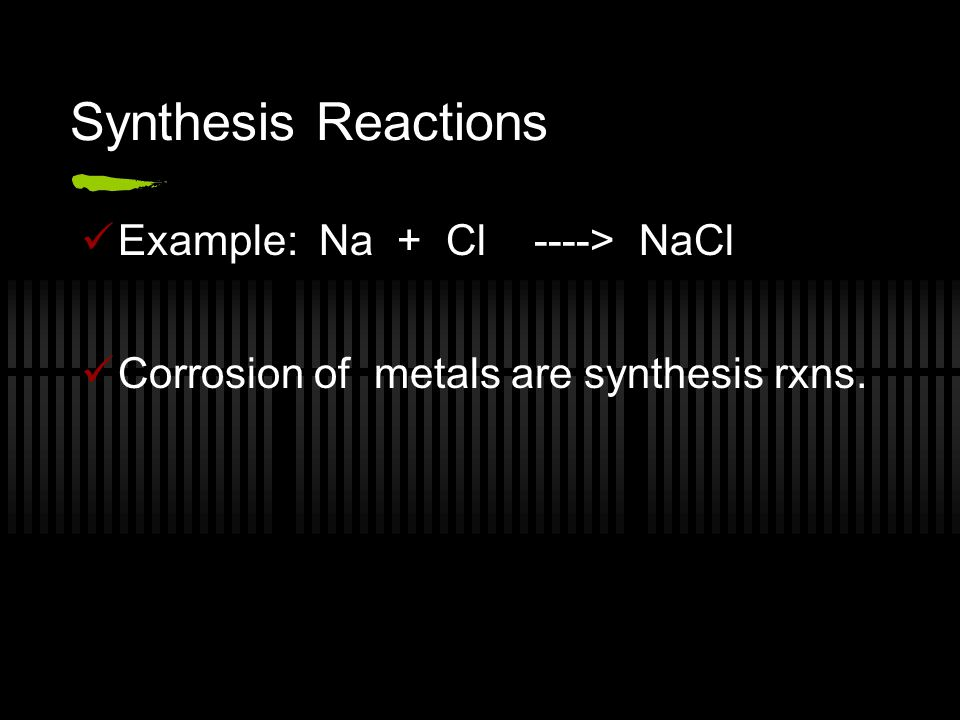 Decomposition Reactions A complex substance breaks down into two or more simpler substances.