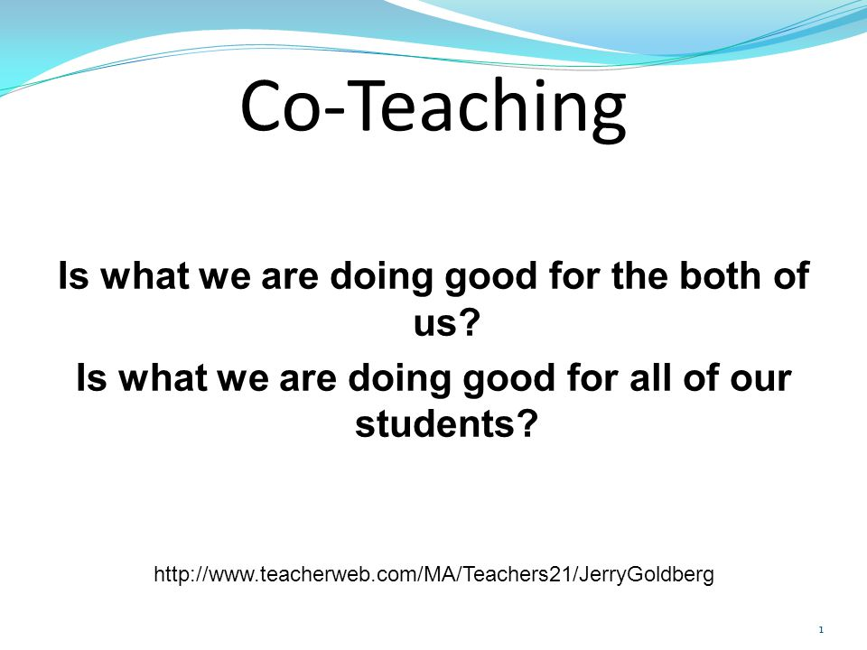 Co-Teaching Benefits Lower teacher – student ratio Classroom of diverse learners Teachers can respond effectively to varied needs of students Another professional can provide different viewpoints and more ideas for instruction Teachers can be motivational for one another Co-teaching can positively affect the general educator's instructional behavior 42