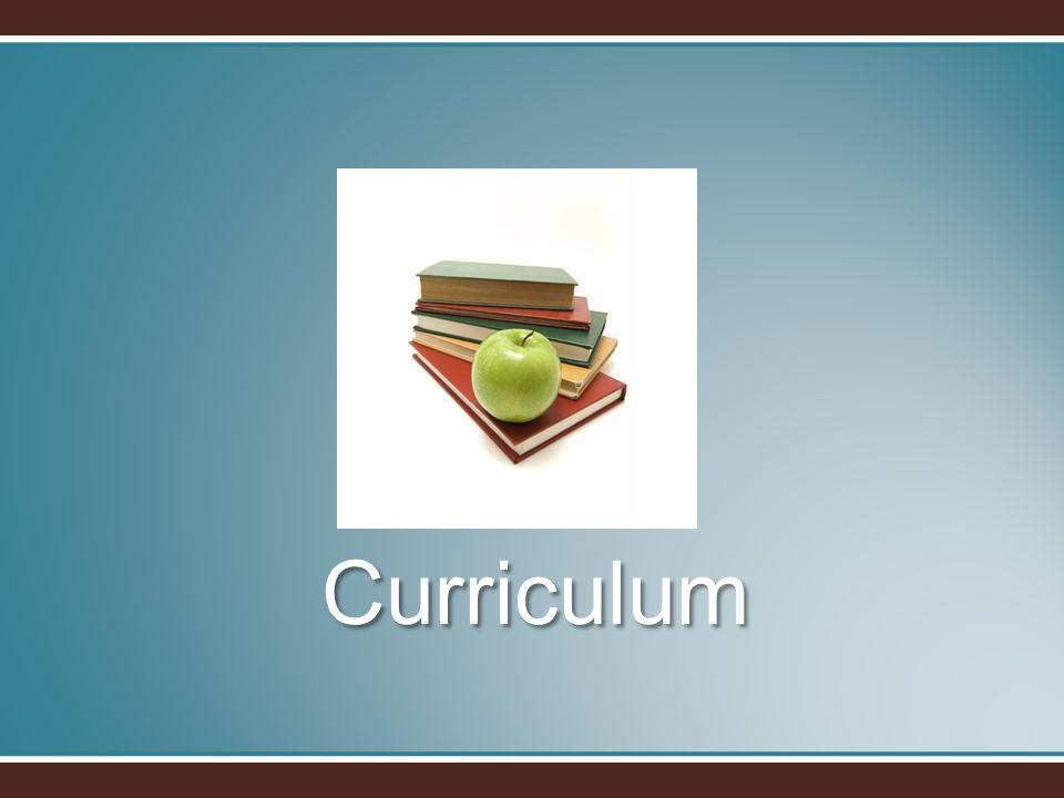 Curriculum Curriculum