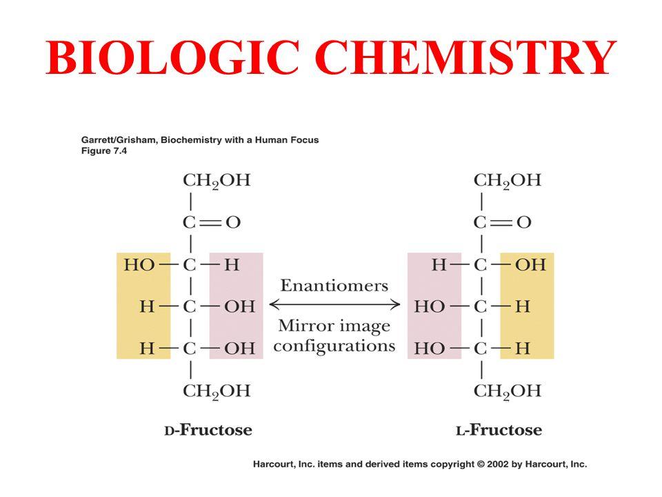 BIOLOGIC CHEMISTRY