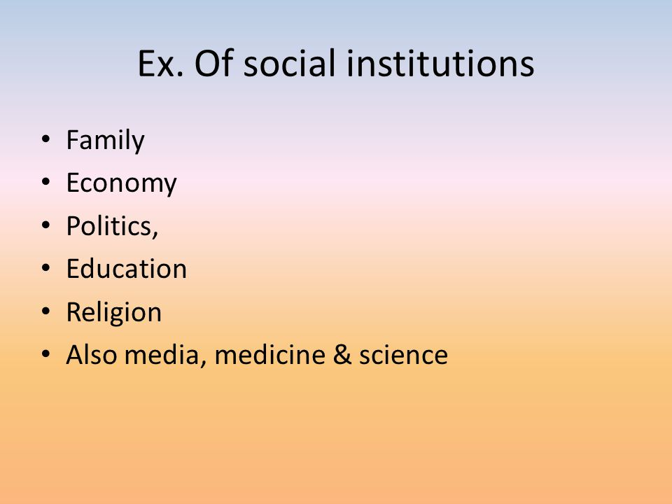 Types of social interaction 1.Exchange- -most basic and common -Reciprocity –the idea of owing something in return 2.Competition- -Causes advancement in business, school & sports -Can lead to stress, lack of cooperation, inequality & conflict 3.Conflict -Wars, disagreements within groups, legal disputes, clashes over ideology 4.Cooperation 5.Accommodation – Neither cooperate or conflict – ex.