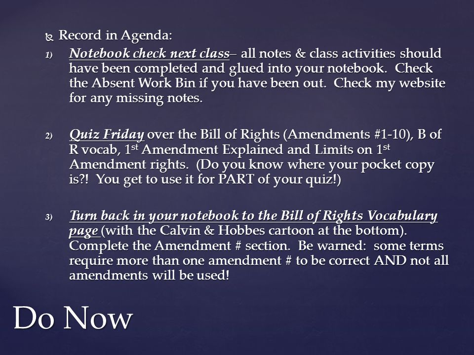 Practice Quiz Which Amendment….1. Protects the right to own weapons 2.
