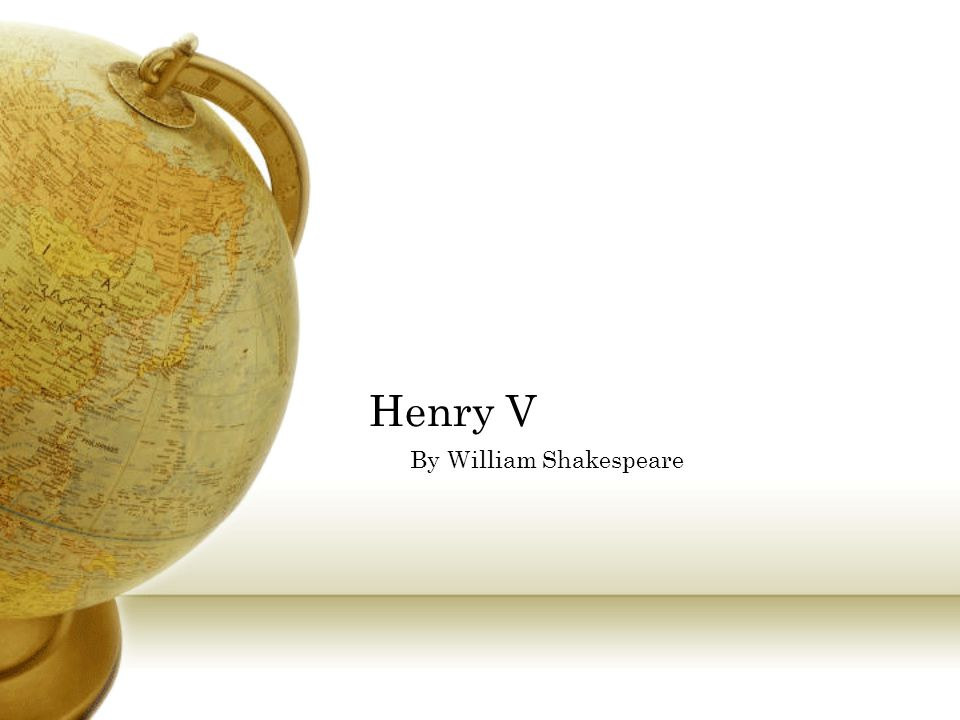 Henry V By William Shakespeare