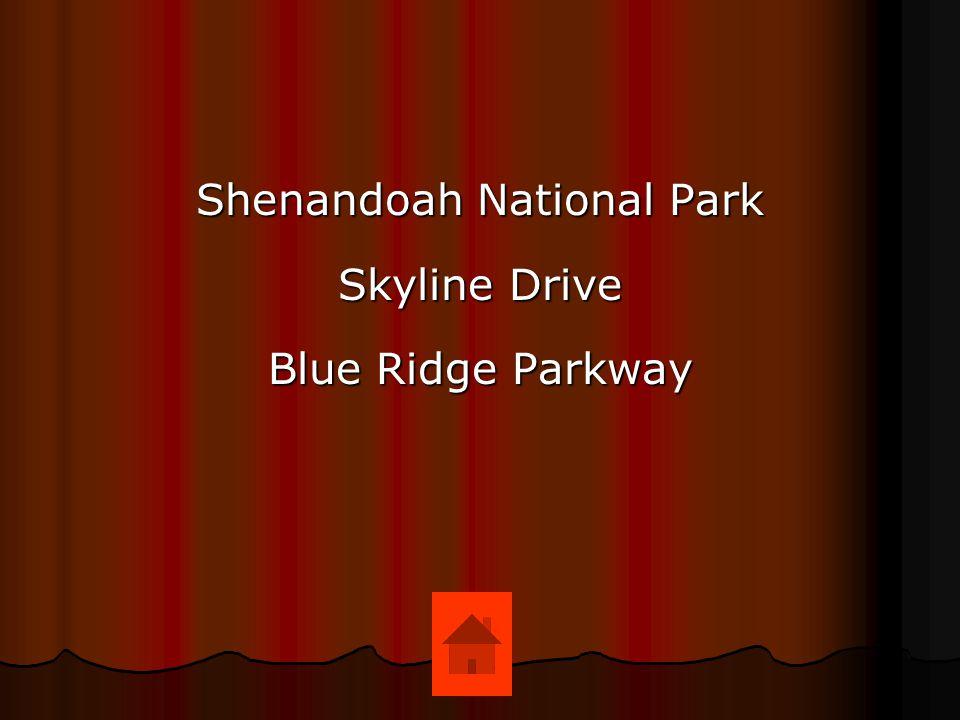 Shenandoah National Park Skyline Drive Blue Ridge Parkway