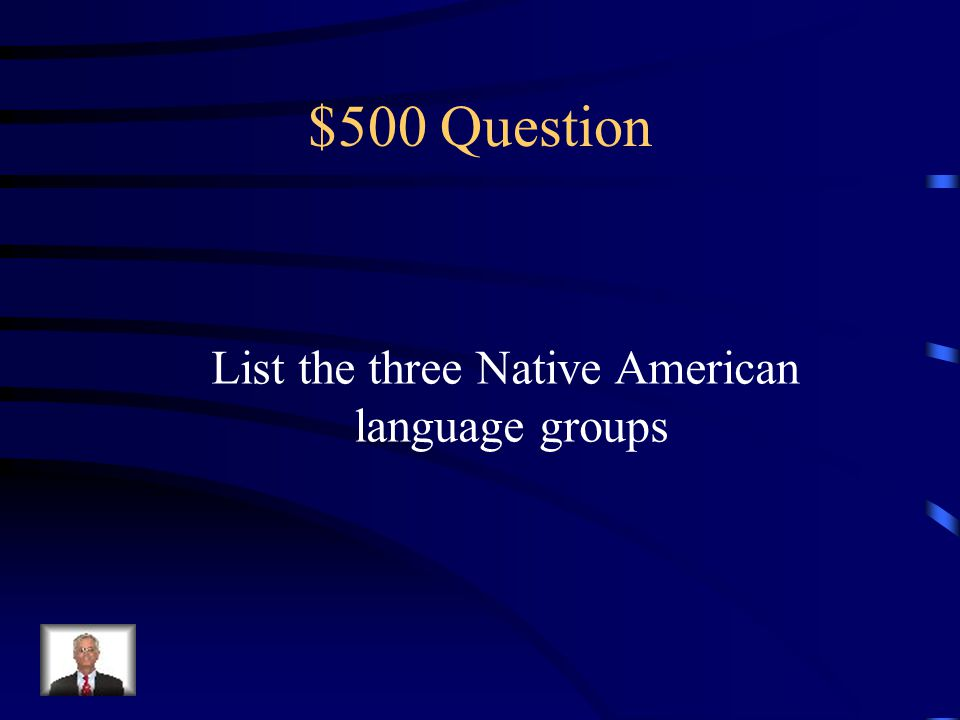 $400 Answer Things started off friendly but grew hostile as land was taken away