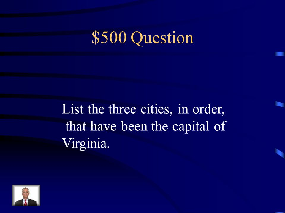 $400 Answer Charters are documents that grant permission to start a colony. England wanted colonies to make money.