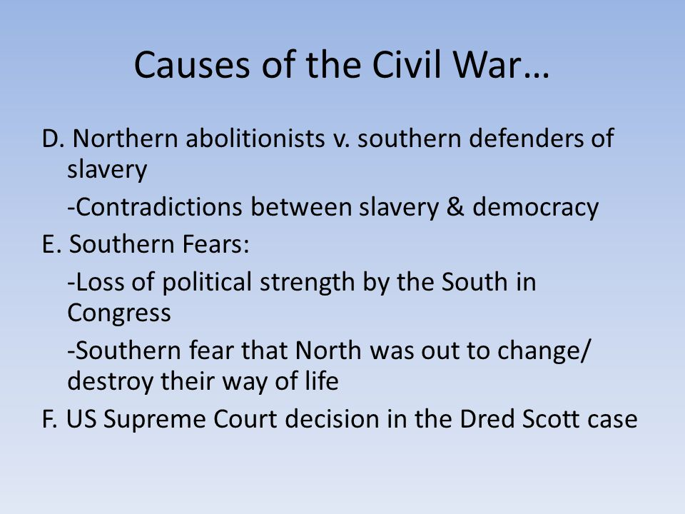 Political Effects of the War The assassination of Lincoln after Lee's surrender at Appomattox allowed the Radical Republicans to take over Reconstruction in a manner much more punitive towards the South.