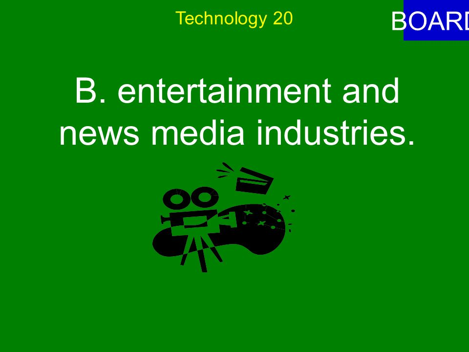 Technology 20 ANSWER Americans were made more aware of important issues in everyday life through A.