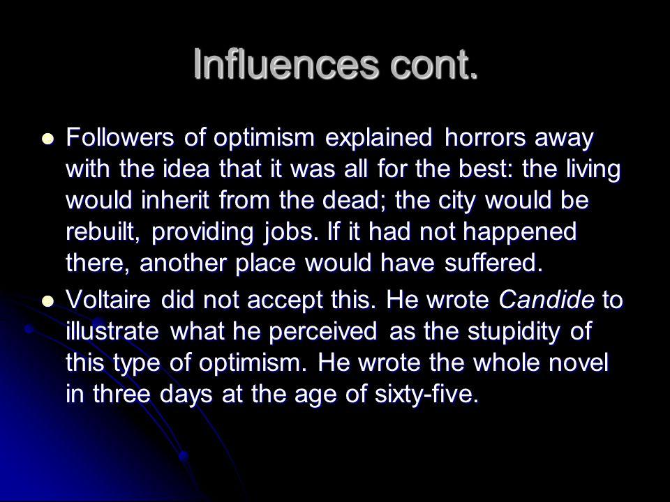 Influences cont.
