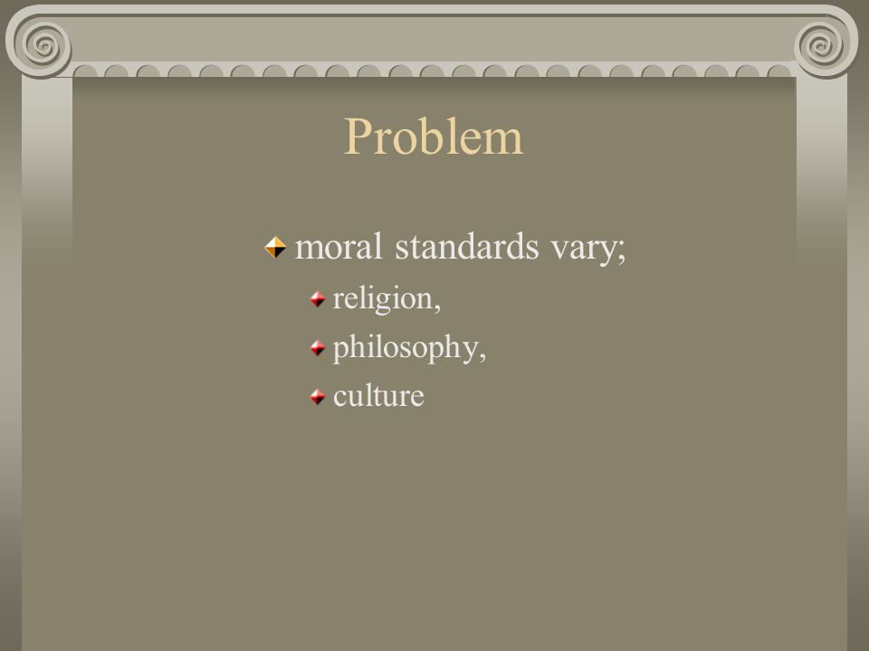 Sources of Law internal; reflect society desires/standards external; ideology or theology
