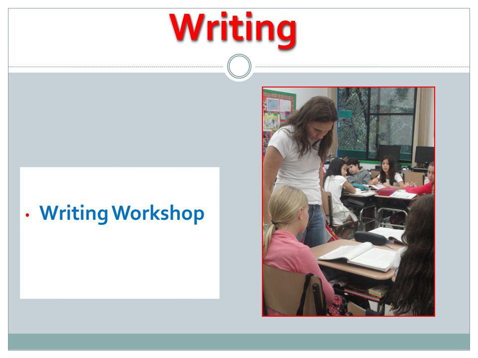 Writing WorkshopWritingWriting