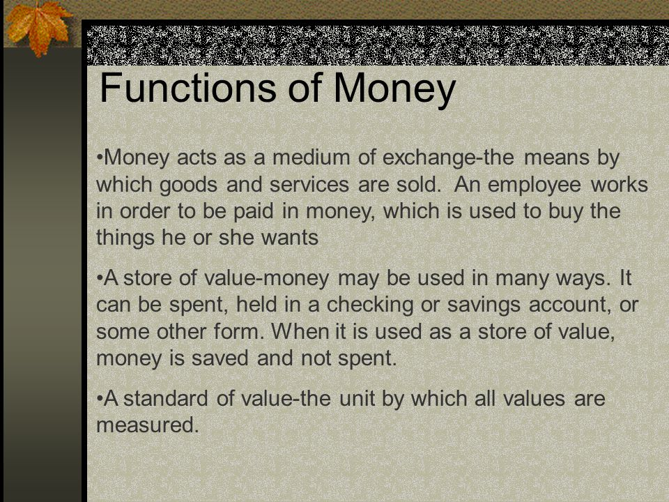 Money and Banking For more than 2000 years, money has been a desirable good.