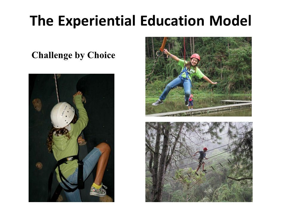 The Experiential Education Model Challenge by Choice distinguish the difference between drugs and medicine.