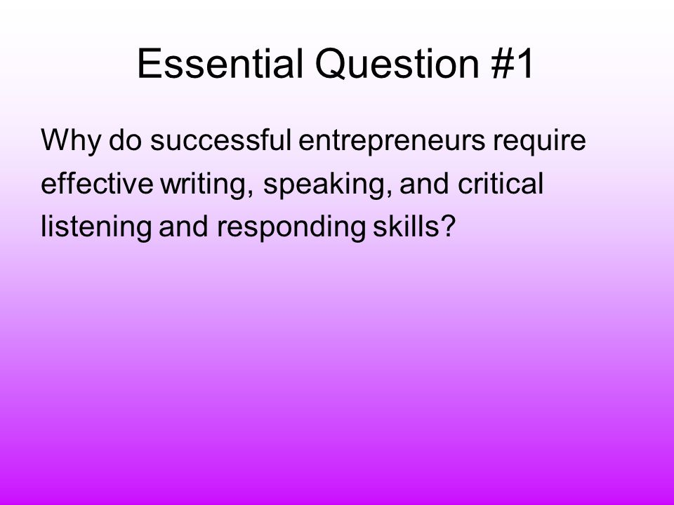 Essential Question #11 What is intellectual property .