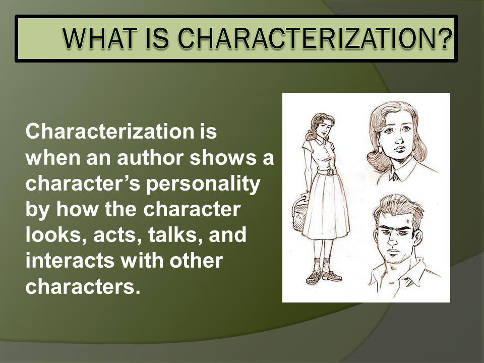 How others react to the character