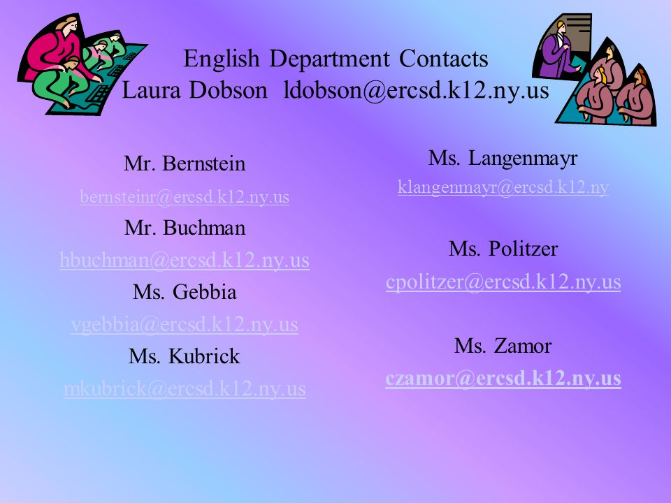 We can work together  Send an email to your child's teachers.