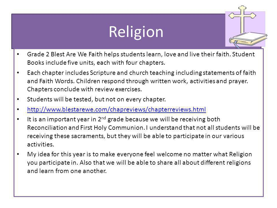 Religion Grade 2 Blest Are We Faith helps students learn, love and live their faith.