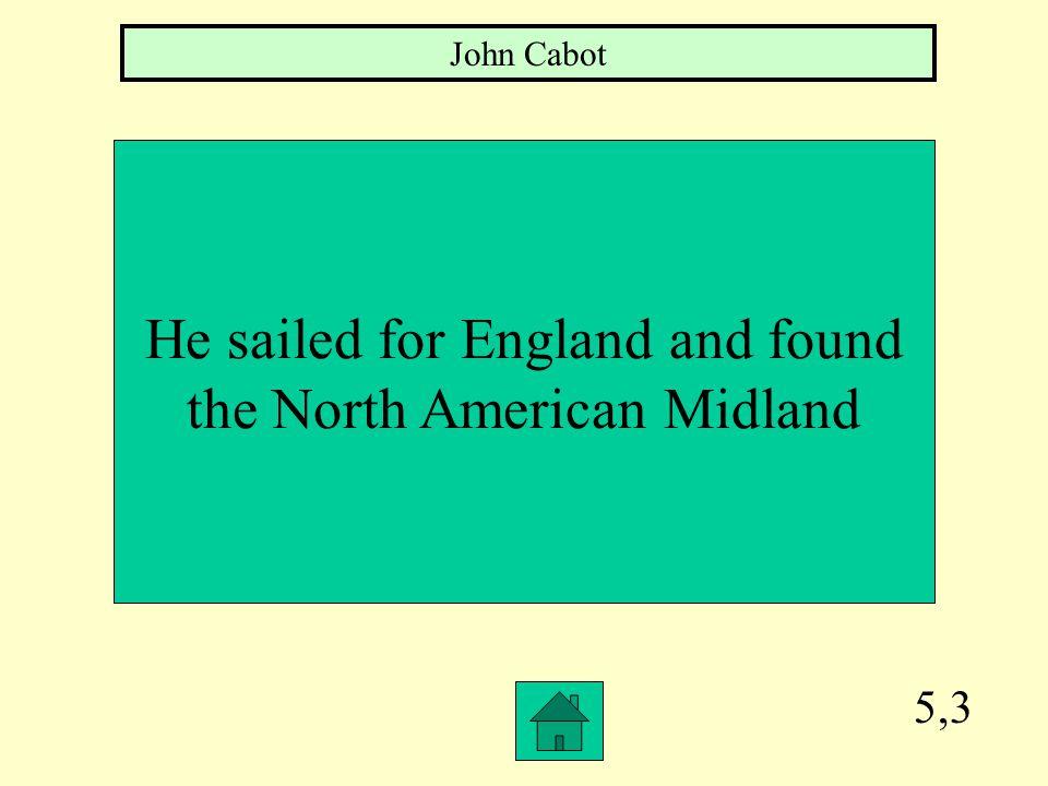 5,2 The English explorer Christopher Newport explored Jamestown, VA