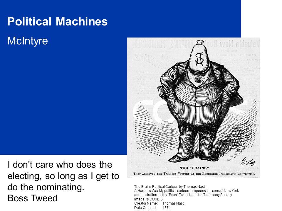 2 Political Machines Basics: What.Why.