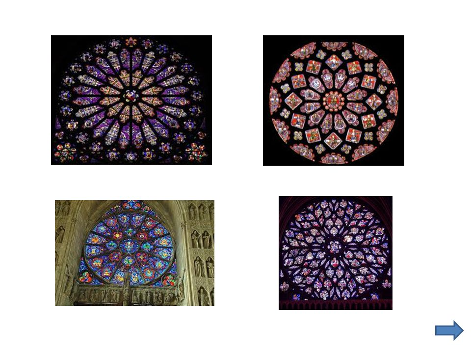 At Tuesday's meeting we will make our own rose windows using black paper and colored tissue paper.