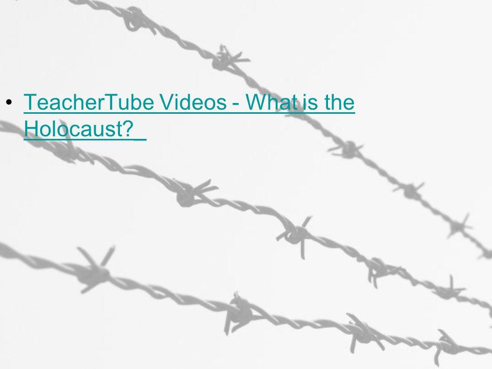 TeacherTube Videos - What is the Holocaust?_TeacherTube Videos - What is the Holocaust?_