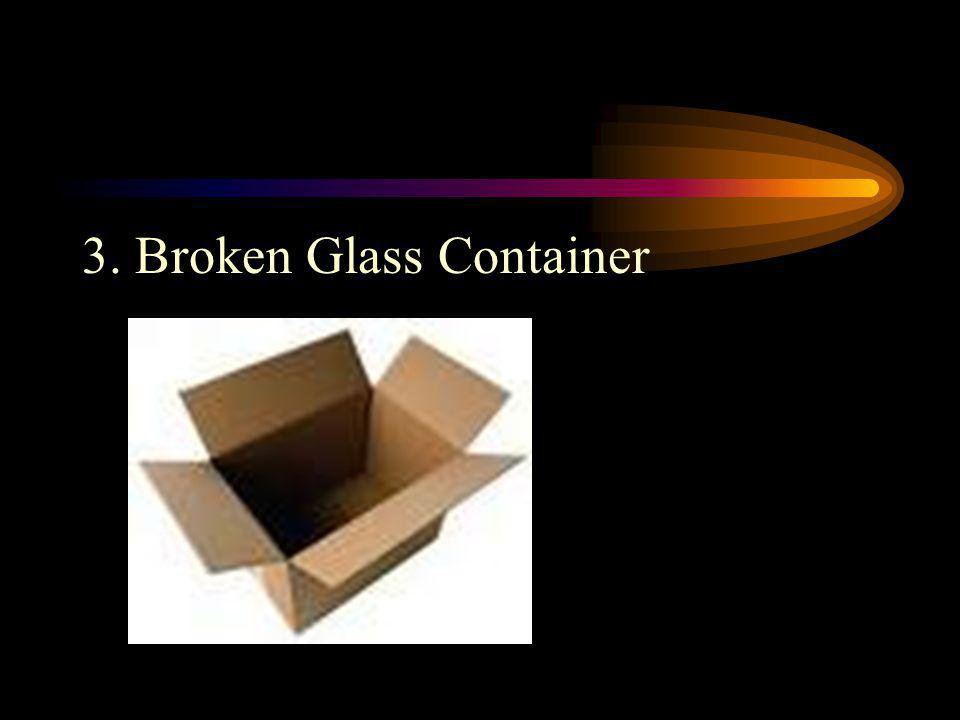 3.Use only heat-resistant glass. Be sure that it is NOT cracked.