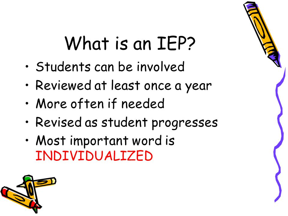 A Little Final Coaching for Parents  The IEP must contain objectively measurable goals and be designed to offer meaningful progress in academic achievement in the general education curriculum and in functional performance