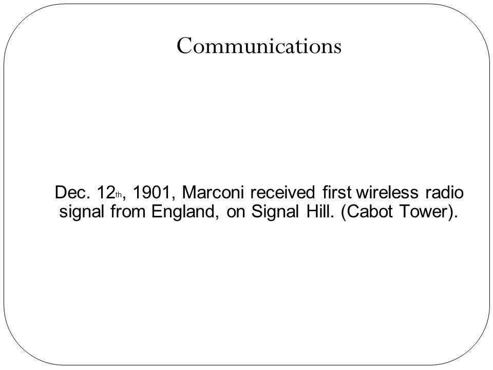 Communications Dec.