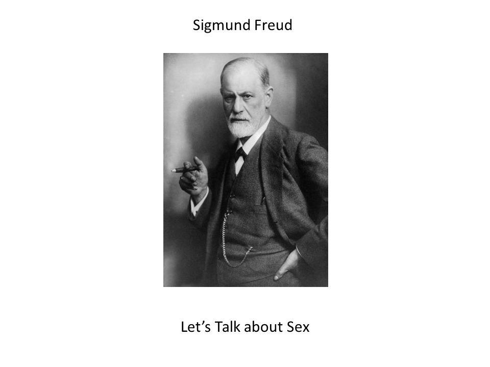 Sigmund Freud Let's Talk about Sex