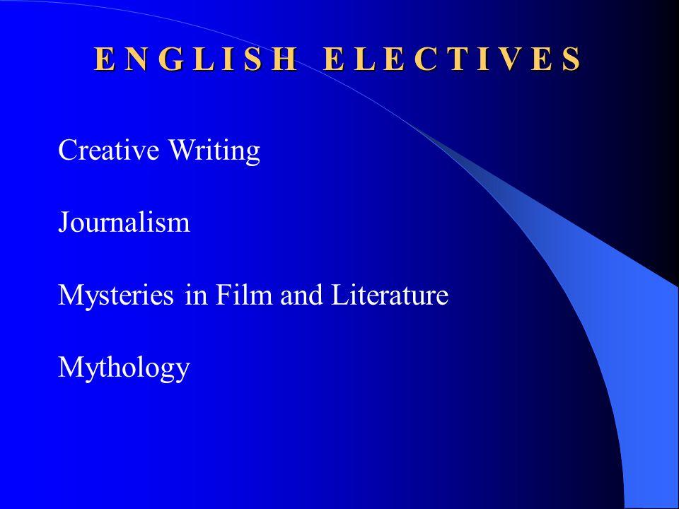 E N G L I S H English 9 Honors English 9 CP English 9 -- NJ ASK 8 determined English 9 -- CST determined English ELL Reading 9 -- NJ ASK 8 determined Reading A --CST determined