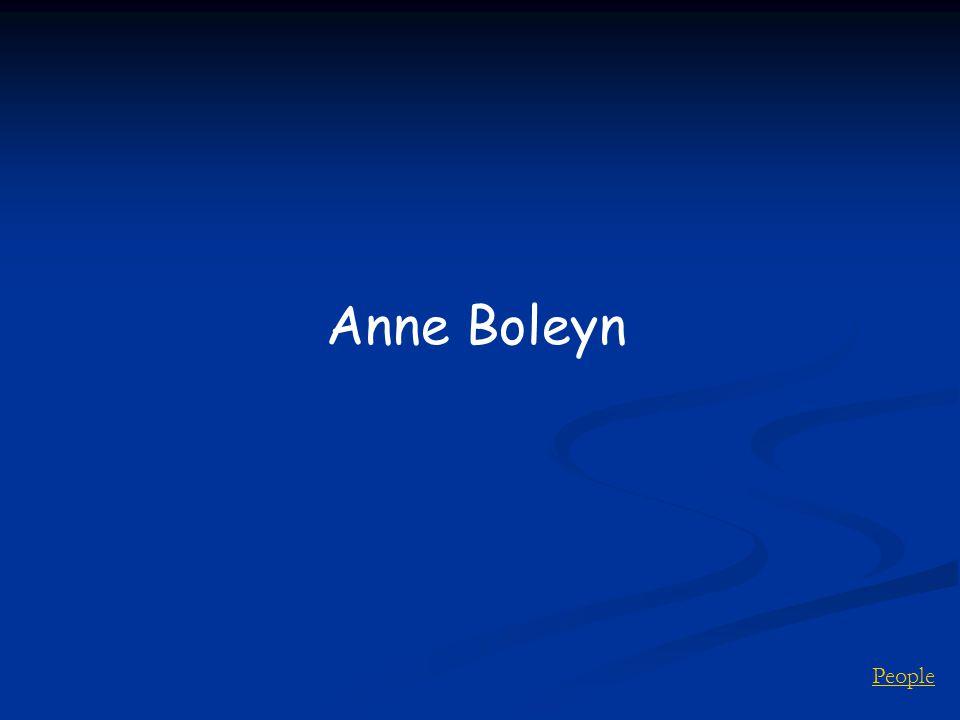 People Anne Boleyn