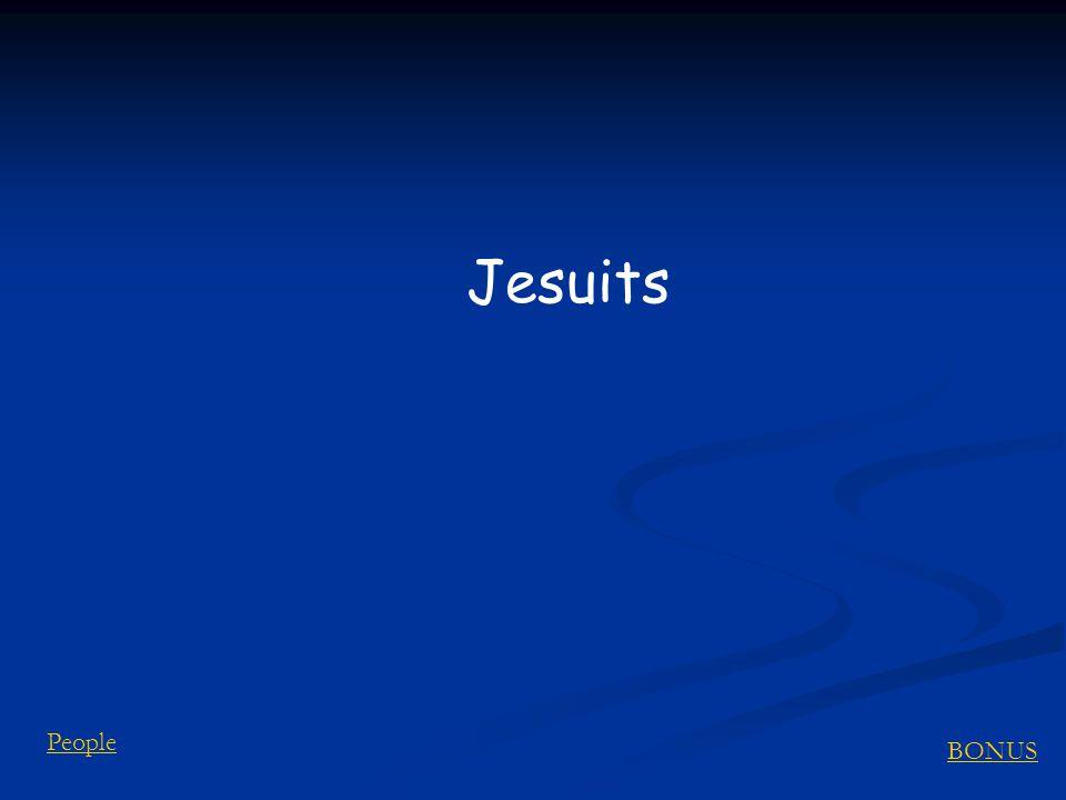 BONUS People Jesuits