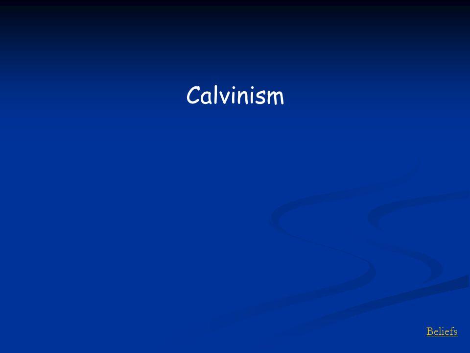 Beliefs Calvinism