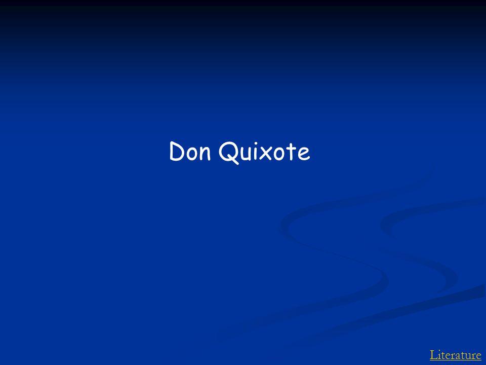 Literature Don Quixote