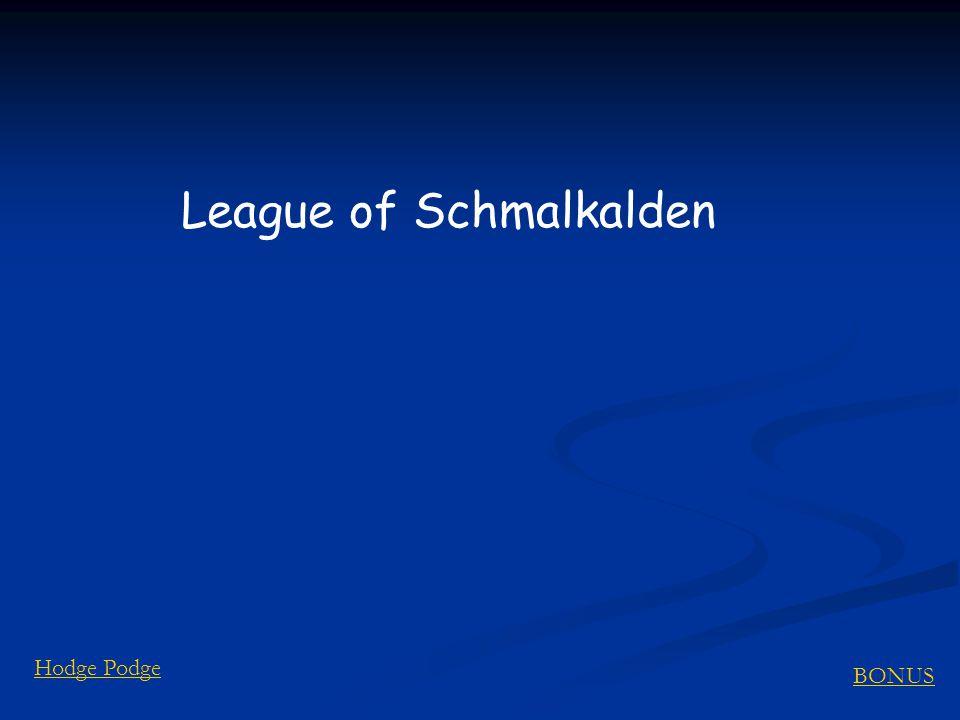 BONUS Hodge Podge League of Schmalkalden